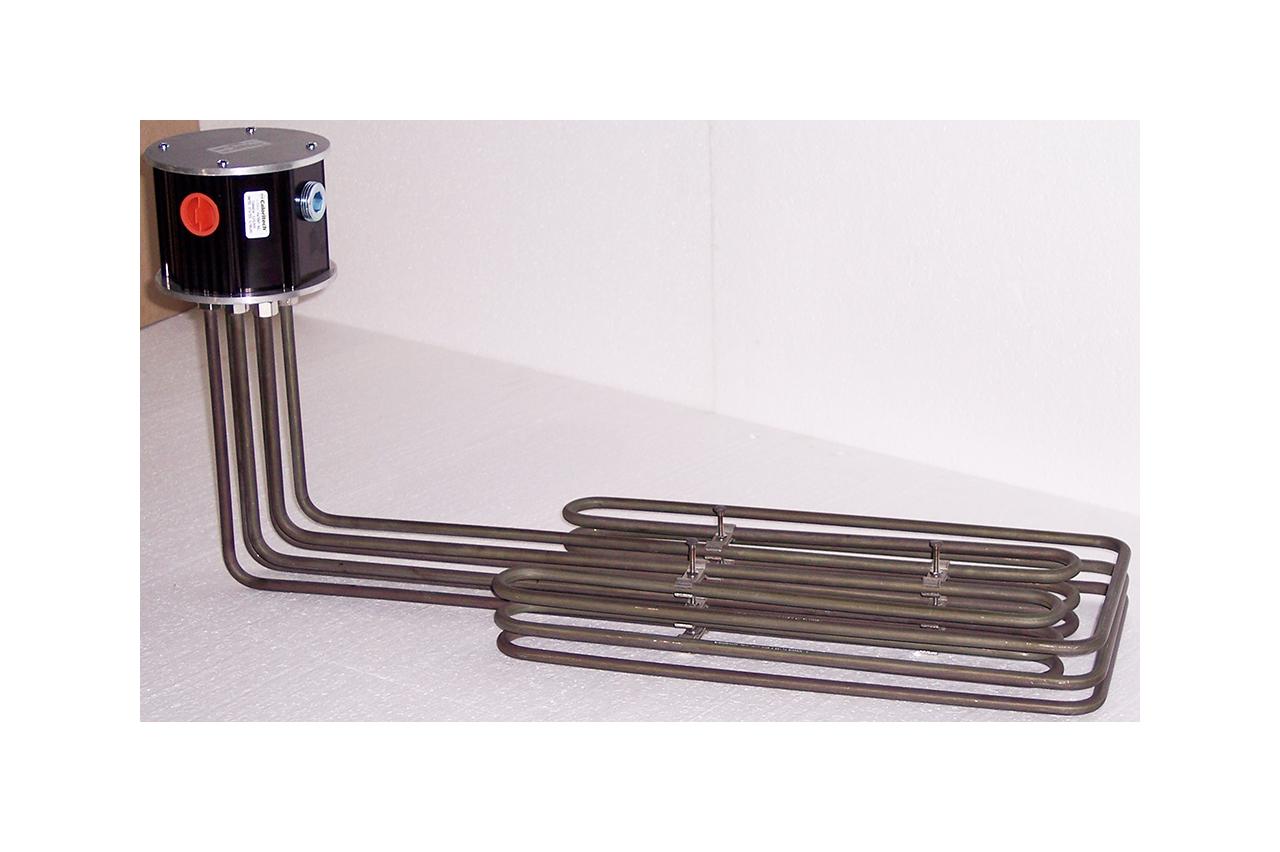 Забортные и донные погружаемые обогреватели (серия DX)
