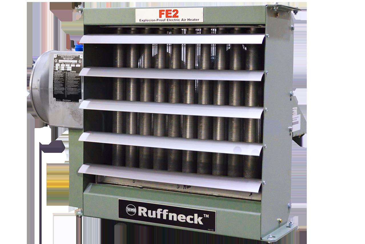 Взрывобезопасный электрический нагревательный агрегат для обогрева воздуха — FE2