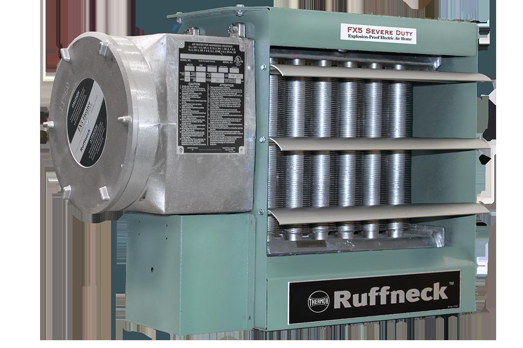 Взрывобезопасный электрический нагревательный агрегат для обогрева воздуха — FX5-SD