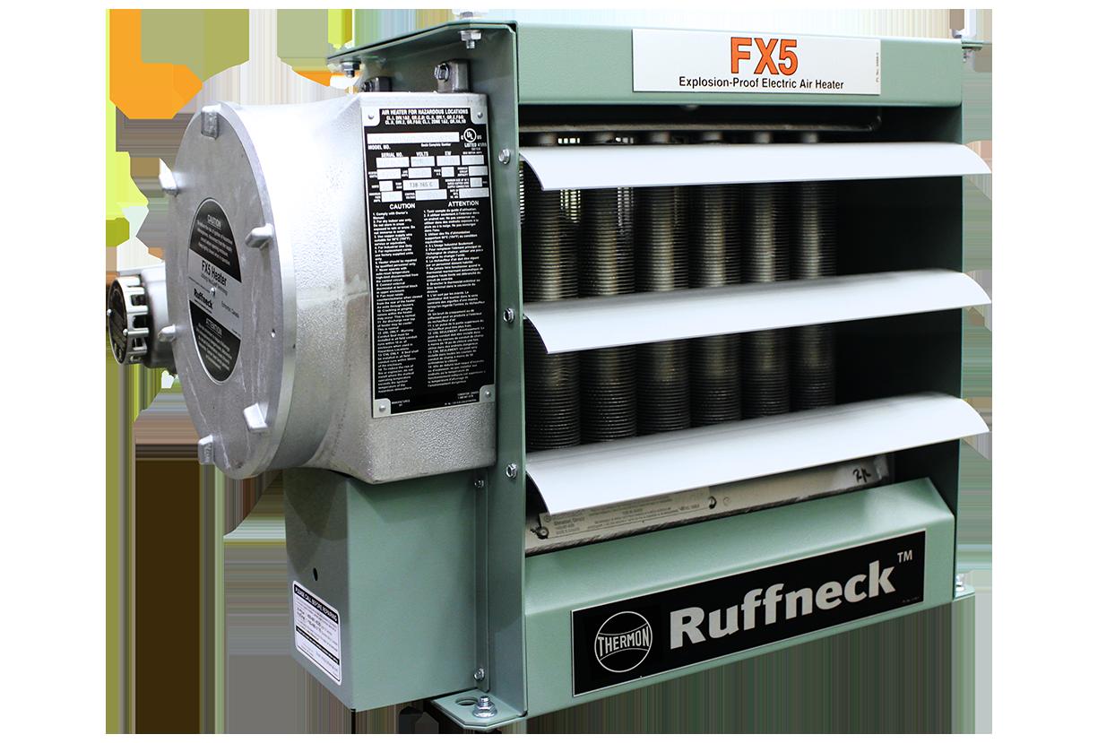 Взрывобезопасный электрический нагревательный агрегат для обогрева воздуха — FX5