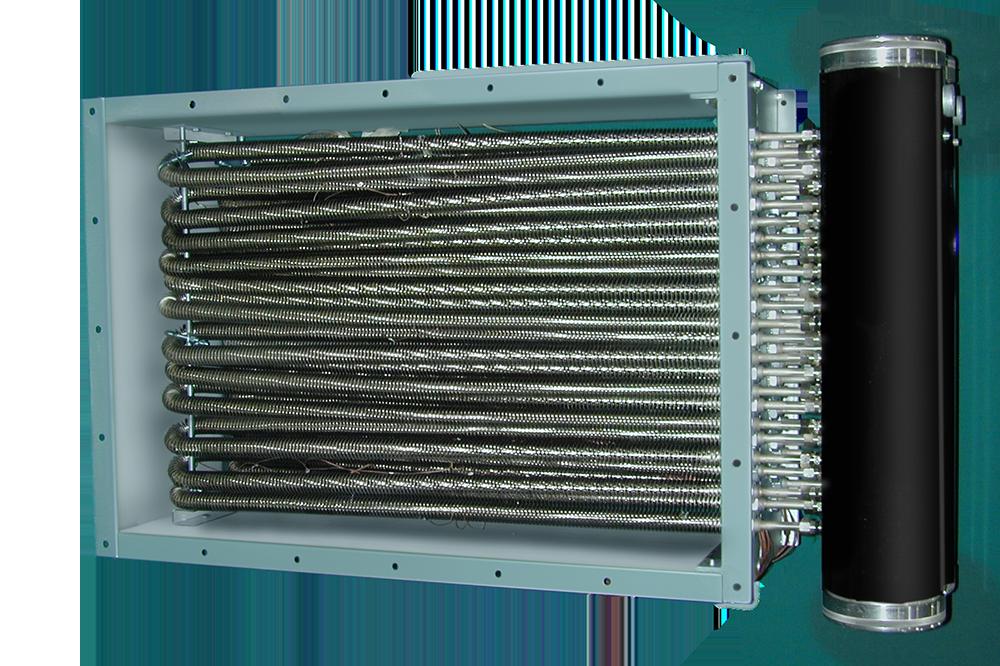 Взрывобезопасный обогреватель воздуховодов — RXDF